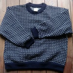 Men's wool LL Bean Sweater